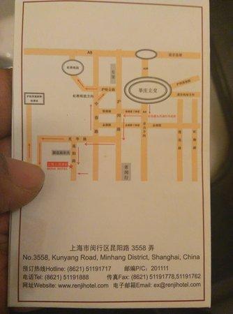 Renji Hotel : Location Card