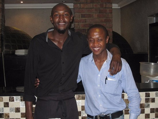 Иденвейл, Южная Африка: Happy to serve
