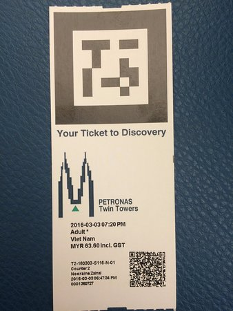 Petronas Twin Towers: Ticket