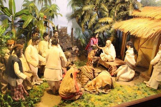 Gandhi-Museum Mani Bhavan: model
