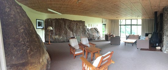 uKhahlamba-Drakensberg Park, Zuid-Afrika: The main room of Rock Lodge
