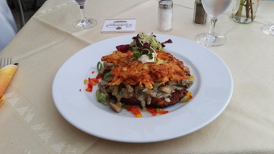Neuruppin, Germany: Vegetarian Option - excellent