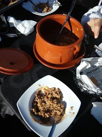 Coria del Rio, Hiszpania: arroz con pato