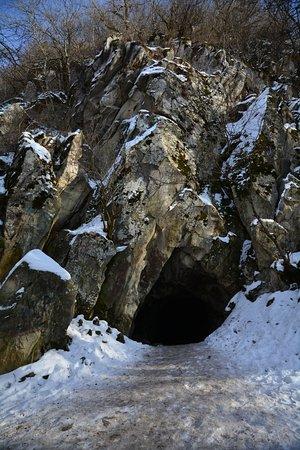 пещера вечной мерзлоты. железноводск
