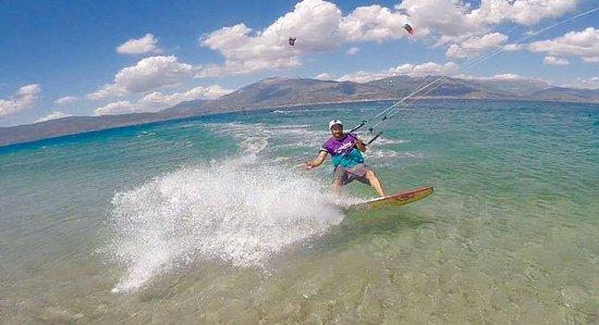Drepano, Greece: surfboard