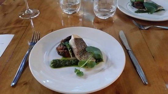 Richmond, Νέα Ζηλανδία: fish of the day, ratatouille and basil pesto (part of our 6 course degustation menu)
