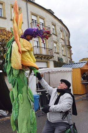 Berdorf, Luxemburgo: Op de feestmarkt