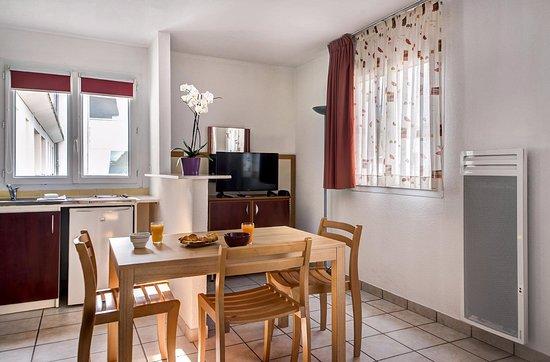 Zenitude Hôtel-Residences La Versoix : studio double