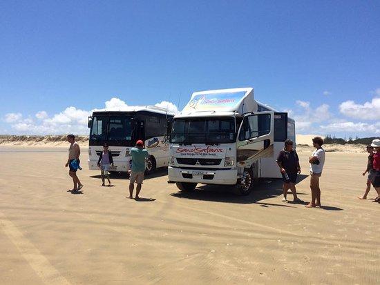 Kaitaia, Nueva Zelanda: Sand Safari Vehicles