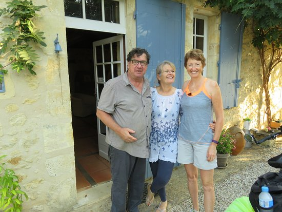 Romagne, Frankreich: Gorgeous hosts - again