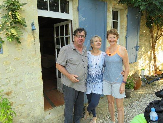 Romagne, Γαλλία: Gorgeous hosts - again