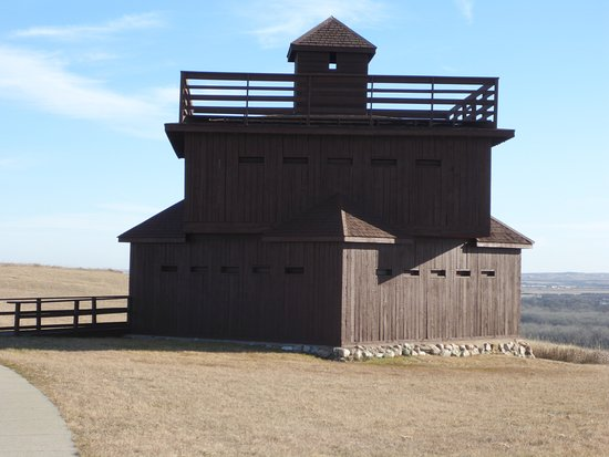 Mandan, ND: Blockhouse, Pretty Formidable