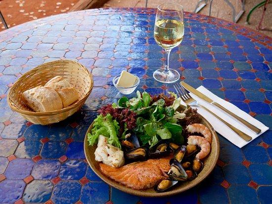 Gaufelden, ألمانيا: Salade de fruits de mer