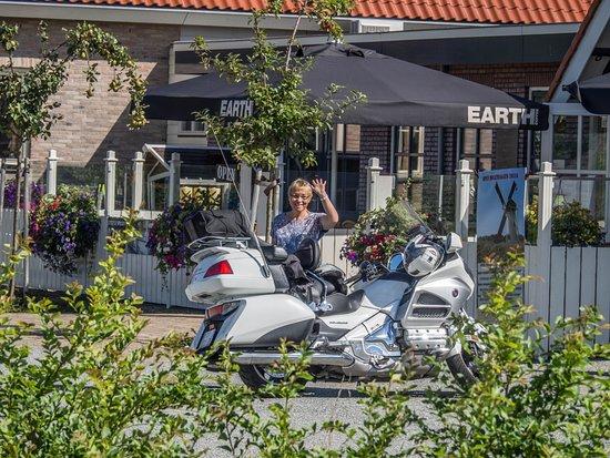 Scharendijke, The Netherlands: une belle halte pour le motard