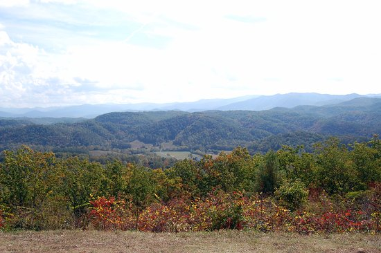 Townsend, TN : View from Foothills Parkway
