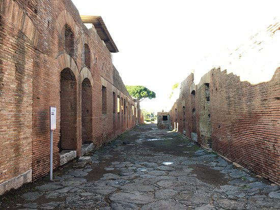 Ostia Antica, Italia: オスタンティアンカ