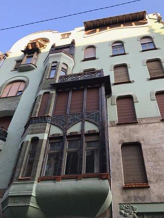 House of Hungarian Art Nouveau (Magyar Szecesszió Háza): Exterior, House of Hungarian Art Nouveau