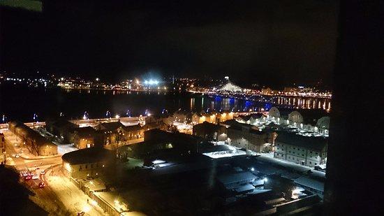 Panorama Riga Observation Deck : Night view Riga