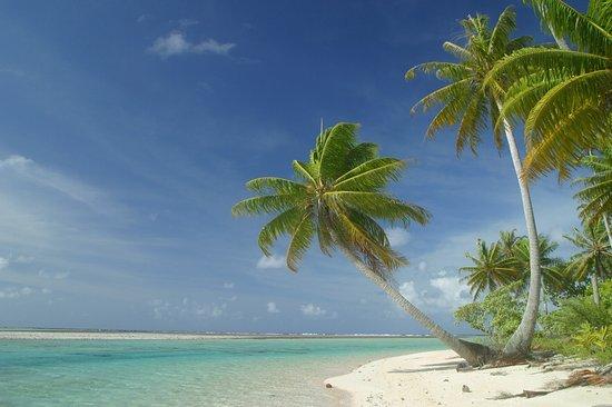 Tikehau Ninamu Resort: Private island beach