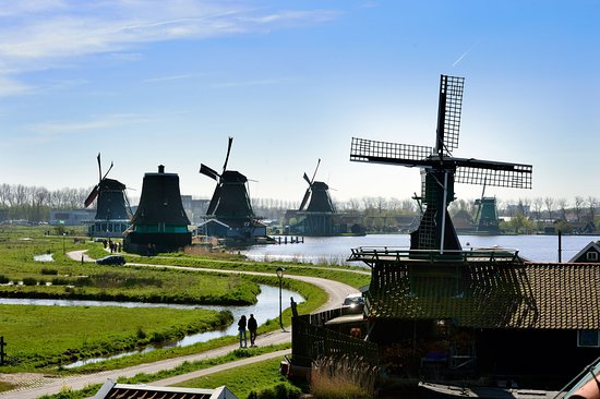 Zaandam, The Netherlands: De Zaanse Schans