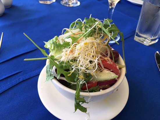 Greek salad - Picture of George's Paragon Seafood ...