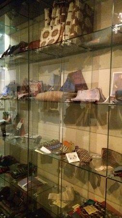 Dre-fach Felindre, UK: Some samples on display