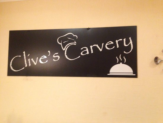Абериствит, UK: Clive's Carvery on a Tuesday evening!