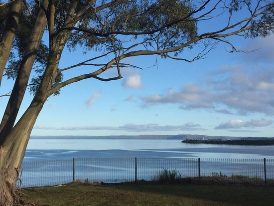 Glenaire Apartmnets: View from Huon and harbour views