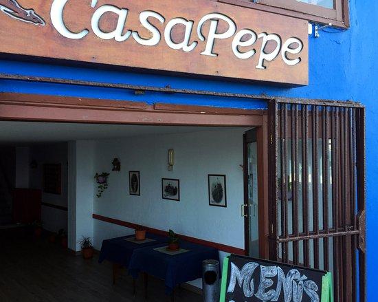 Bajamar, إسبانيا: Вход в ресторанчик