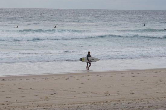 Tugun, أستراليا: Early surfer