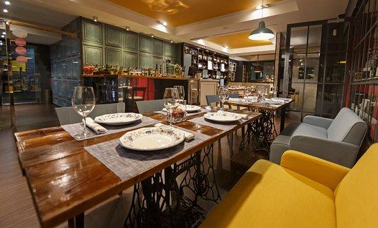 B-nomio Restaurante: Espacio Platillo