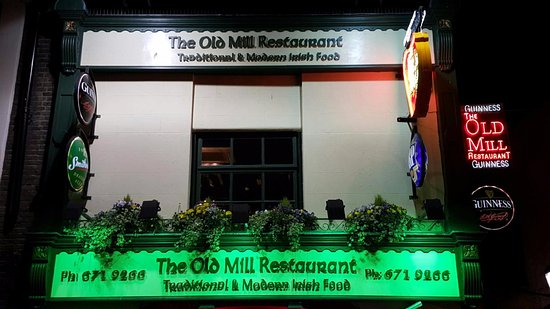 The Old Mill Restaurant: New Front of House