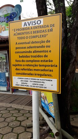 Hot Park: Aviso intimidador, ridiculo.