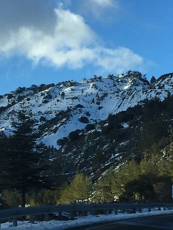 Troodos Mountains, Chipre: Winter Wonderland in The Cyprus Alps (Troodos)