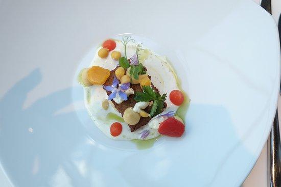 Lenk-Simmental, Svizzera: Zaubereien auf dem Teller. So wie es aussieht schmeckt es auch, traumhaft.