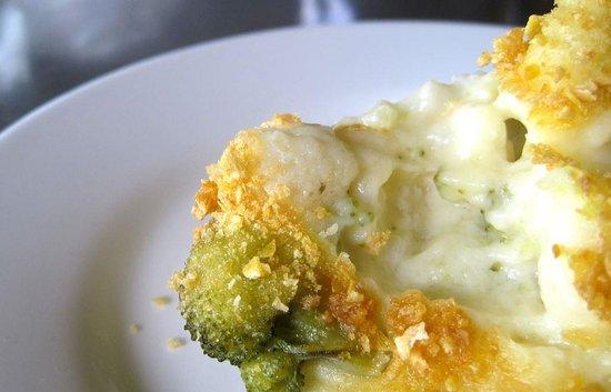 Caledon, Sydafrika: Cauliflower broccoli and almond bake