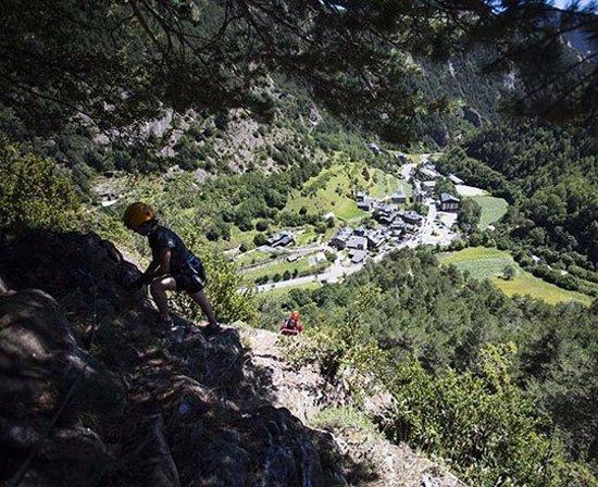 La Massana, Andorra: Zona de Escalada Roc de la Coma d'Erts