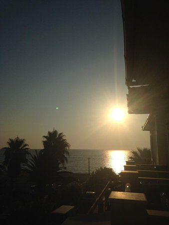 Anassa Hotel: View from balcony