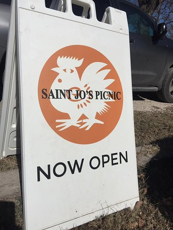 Utopia, Τέξας: SAINT JO'S PICNIC, a wonderful discovery in the Texas Hill Country!