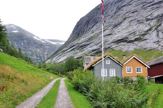 Sogn og Fjordane, Νορβηγία: Домики гостевого дома