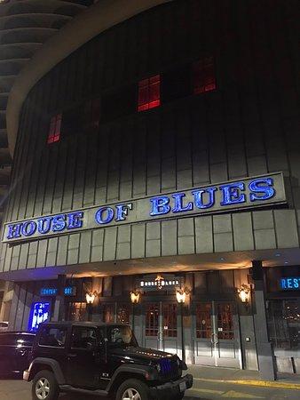 House of Blues Restaurant & Bar Chicago: Main Entrance
