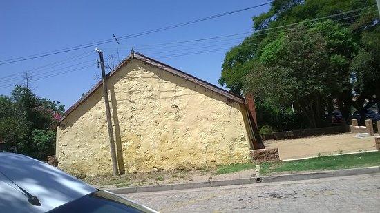 casas tipicas de Conchillas declaradas Monumento Nacional.