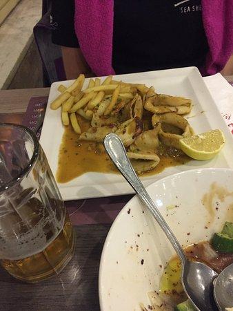 Calamares a la plancha picture of ali baba restaurant for Ali baba cuisine