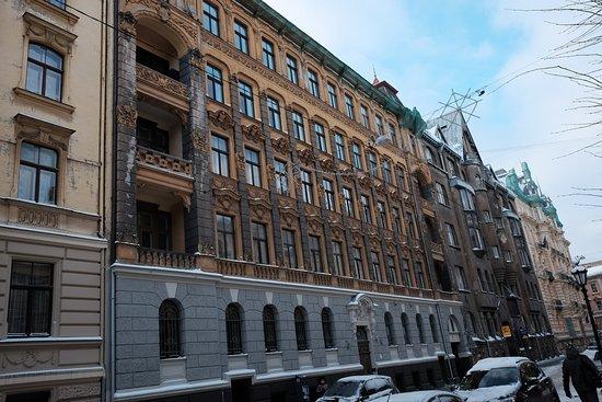 Квартал-памятник архитектуры в стиле модерн