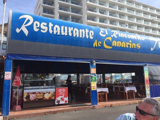 El rinconcito de canarias puerto rico fotos n mero de for Restaurante puerto rico madrid