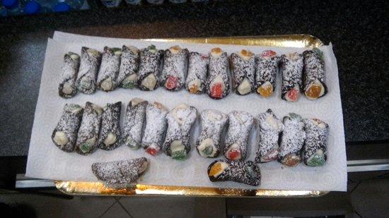 Gouveia, Portugal: Cannoli Siciliani