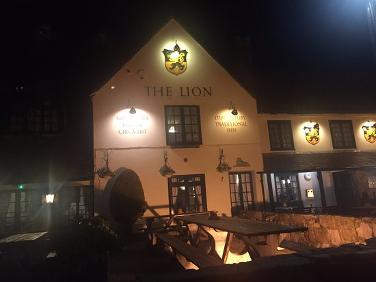 The Lion: View from Street
