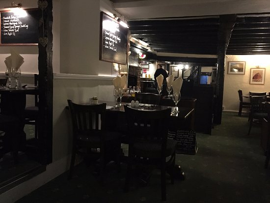 The Lion: The inside of the restaurant section