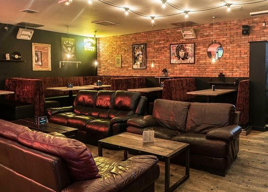 The Record Factory: The main bar area, available for hire!