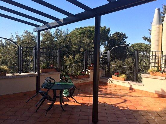 Terrazza di una suite - Foto di Hotel Degli Aranci, Roma - TripAdvisor